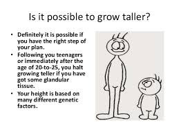 Folks Are Extremely Conscious Of Their Physical Look And Need To Perfect From Head Toe There Some Who For Ways Gain More Height So