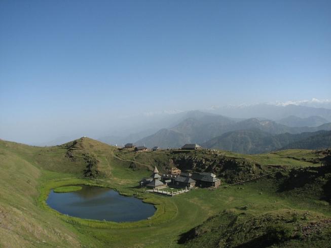 Prashar Lake Mandi Himachal Pradesh