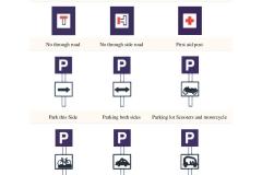 Informatory Road Signs