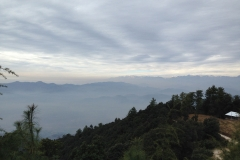 Balh Valley view from Saroa Chailchowk Mandi Himachal Pradesh