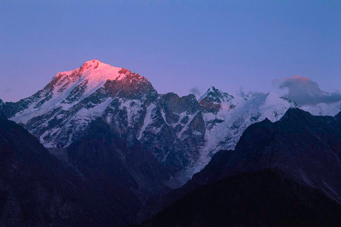 Peaks of Himachal Kinnar Kailash Kalpa