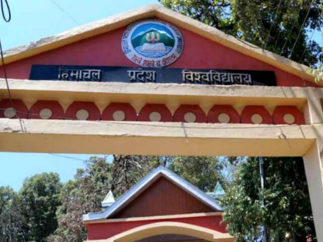 HP University Shimla